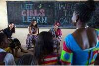 Freida Pinto meets Michelle Obama to join hands for 'Let Girls Learn' initiative