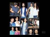 Shah Rukh Khan, Kangana Ranaut attend Aanand L Rai's birthday bash