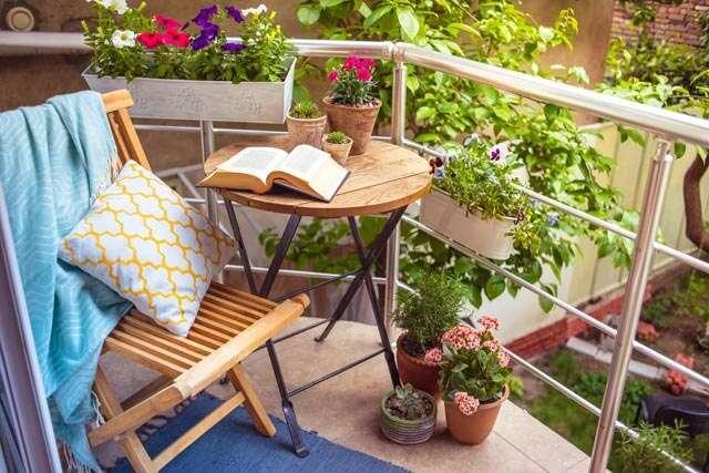 Decorate your terrace garden