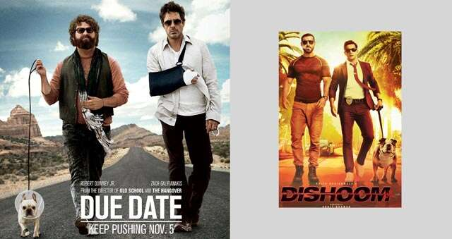 bollywood posters copied from hollywood