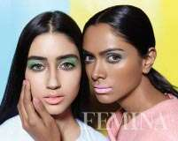Add a fresh vibe to your look with pastel makeup