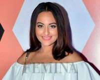 Get Sonakshi Sinha's dewy skin and bright lips right now