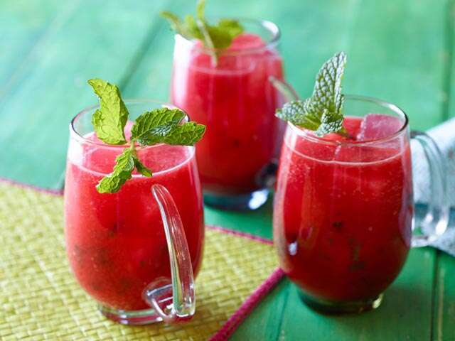 Chill out with the delicious mocktails