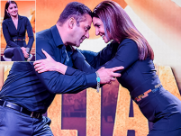 Anushka Sharma wrestled Salman in Nikhil Thampi bodysuit at Sultan trailer launch