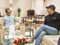 Akshay Kumar, R Balki meet Madhya Pradesh Chief Minister