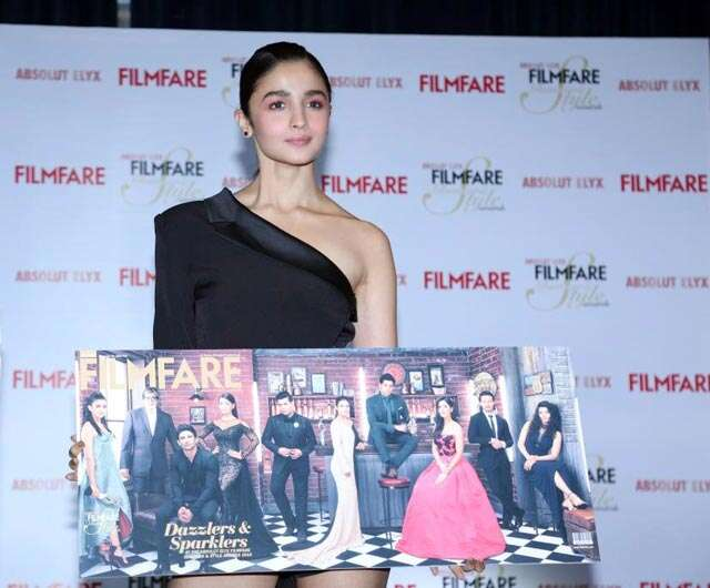 Alia Bhatt dazzles on Filmfare's cover along with other Bollywood trendsetters