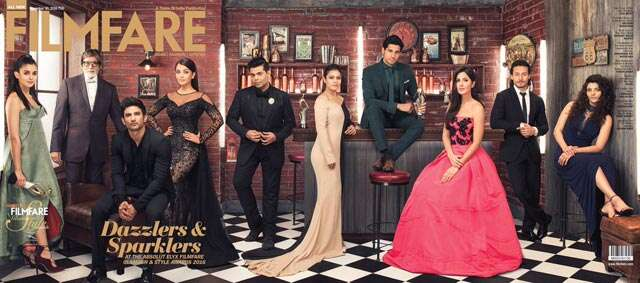 Check out Filmfare's all-star Glamour & Style Awards cover