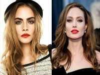Cara Delevingne supports Angelina Jolie