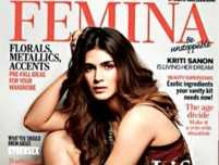 Kriti Sanon looks stunning on Femina cover page
