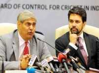 ICC chairman Shashank Manohar working against Indian cricket: Anurag Thakur