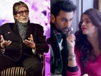 Big B reacts to Ranbir-Aishwarya's chemistry in 'Ae Dil Hai Mushkil'