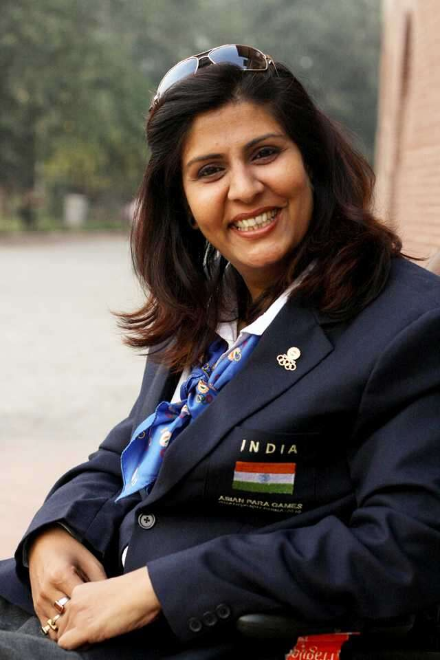 Deepa Malik Wins Silver At The Paralympics Femina In
