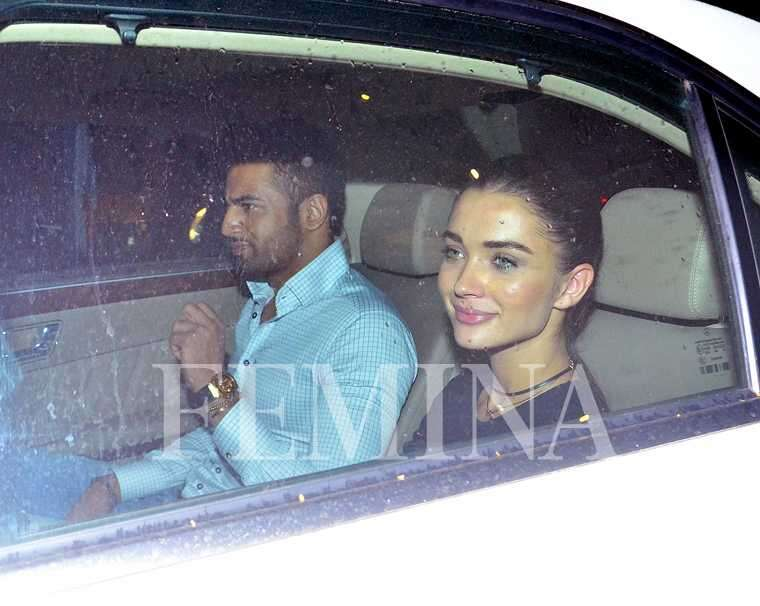 Couple alert! What's cooking between Upen Patel and Amy Jackson?