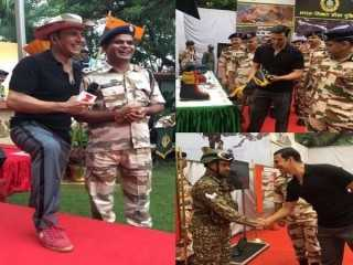 Akshay Kumar met the Indo-Tibetan Border Police force