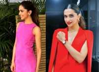Deepika Padukone shows us how to mix pink and red