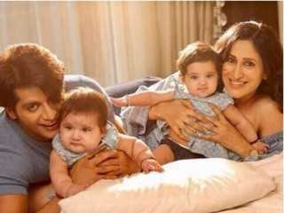Karanvir Bohra's twins to make TV debut