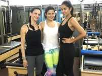 Watch: Katrina Kaif's rigorous Pilates session