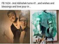 Abhishek Bachchan turns 41; Big B gets nostalgic