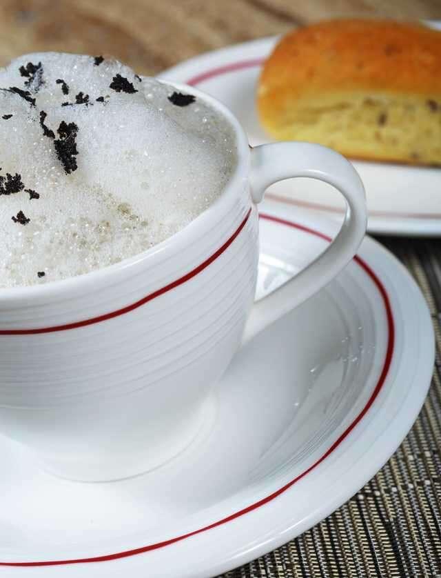 Cappuccino of Mushroom