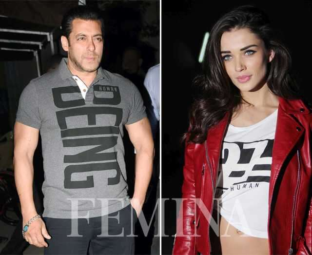 Salman Khan and Amy Jackson