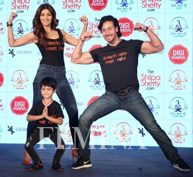 Shilpa Shetty, Tiger Shroff