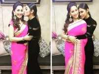Mouni Roy bonds with Bollywood actress Madhuri Dixit, posts pics