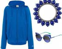 Go cool with lapis blue