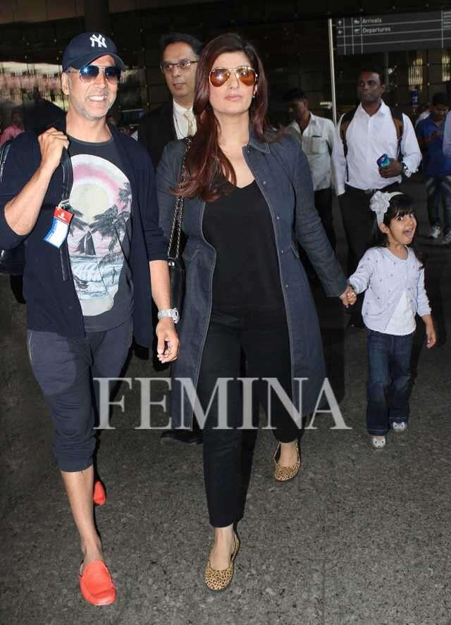 Akshay Kumar Twinkle Khanna Nitara