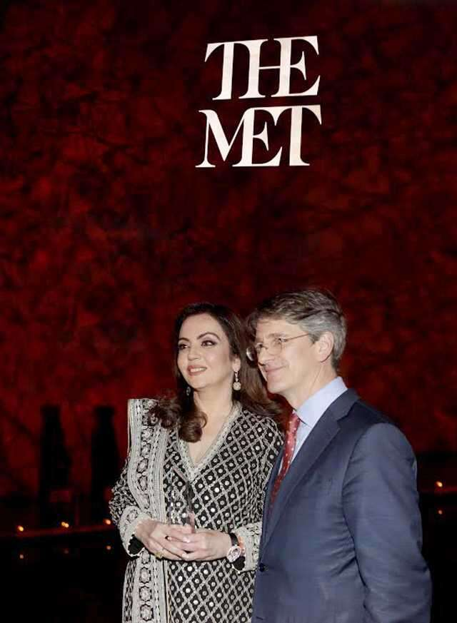 Nita Ambani honoured by NY's prestigious MET