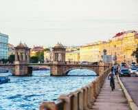 Travel now for the White Nights in St Petersburg, Russia