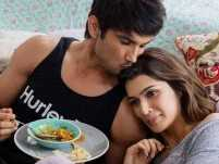 Sushant Singh Rajput and Kriti Sanon bond over food
