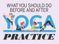 What you should do before and after Yoga