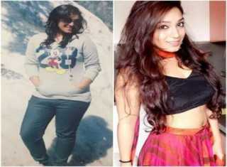 A trekking trip motivated Dhruti to lose weight