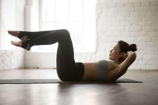 Pilates curl