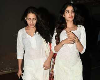 New BFF alert: Jhanvi Kapoor is twinning with Sara Ali Khan