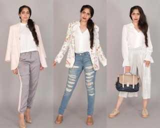Ways to style a white shirt