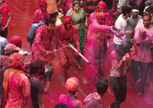 Holi in UP