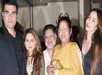 Arbaaz Khan spotted attending Malaika Arora's mother's birthday party