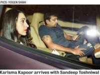 Karisma Kapoor brings her beau Sandeep Toshniwal into the open