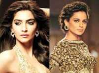Sonam Kapoor responds to Kangana Ranaut's nepotism comment