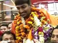ISSF World Cup: Gold medal winner Ankur Mittal receives grand welcome
