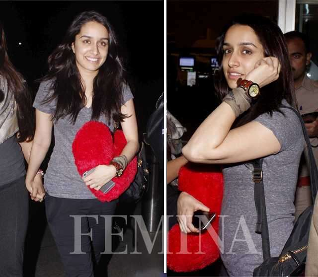 Shraddha Kapoor with friend