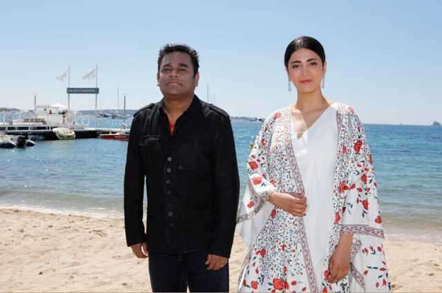Shruti Haasan and A R Rehman