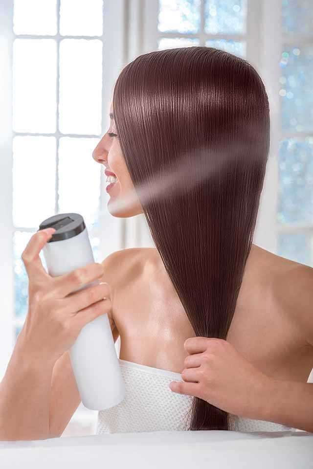 Avoid using chemicals and hair straitening products