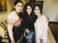 Ekta Kapoor welcomes Smriti Irani on Instagram
