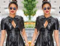 Priyanka Chopra makes leather look flirty and fun!