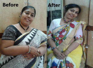 How she lost 61 kilos in 18 months!
