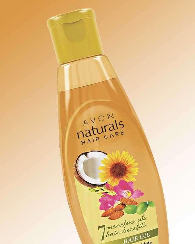 Avon Naturals Hair Care Oil
