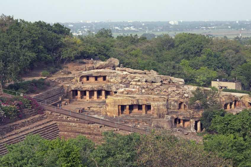 Bhubaneshwar caves