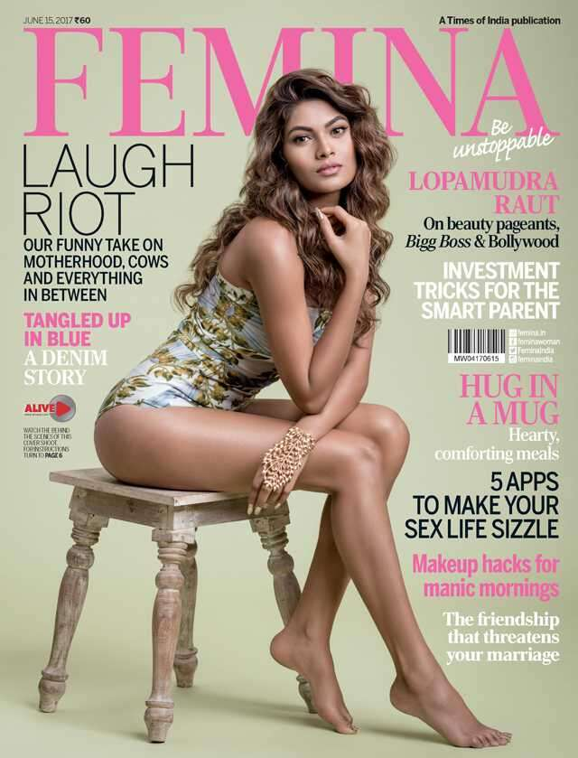 Lopamudra Raut looks dazzling on Femina's latest cover